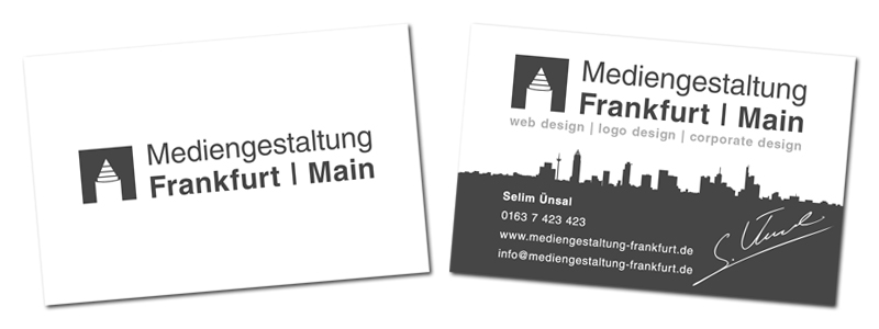 Mediengestaltung Frankfurt Am Main Web Design Logo